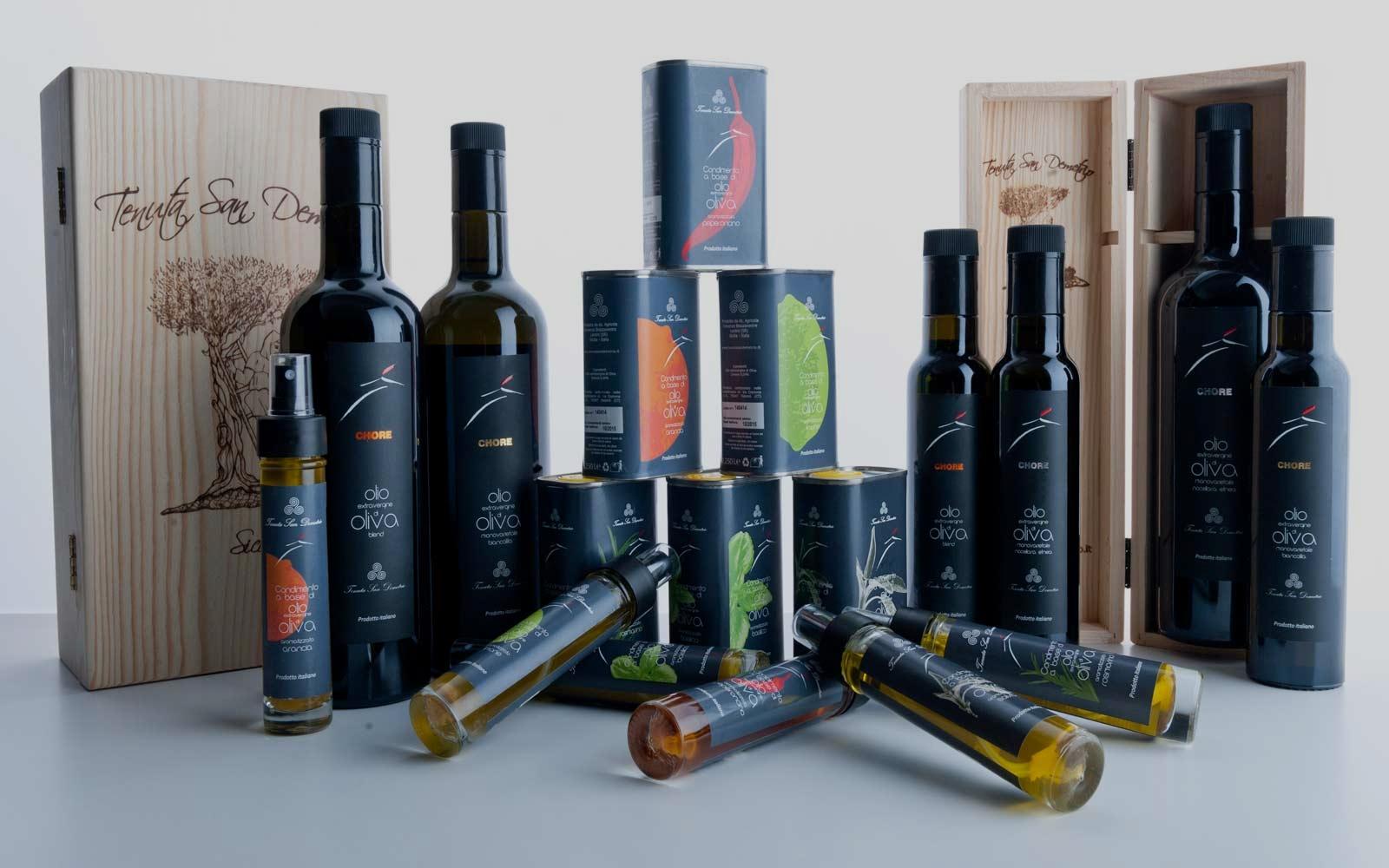 gearomatiseerde olijfolie
