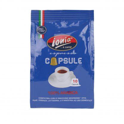 ionia-arabica capsules nespresso